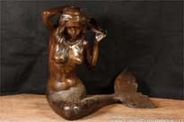 Bronze Mermaid Fountain Garden Statue