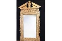 Tall Adams Gilt Pier Mirror