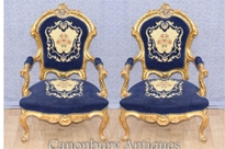 French Antique Arm Chairs