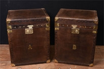 steamer Trunk Luggage Boxes