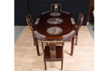 Antique Chinese Dining Set Table and Chairs