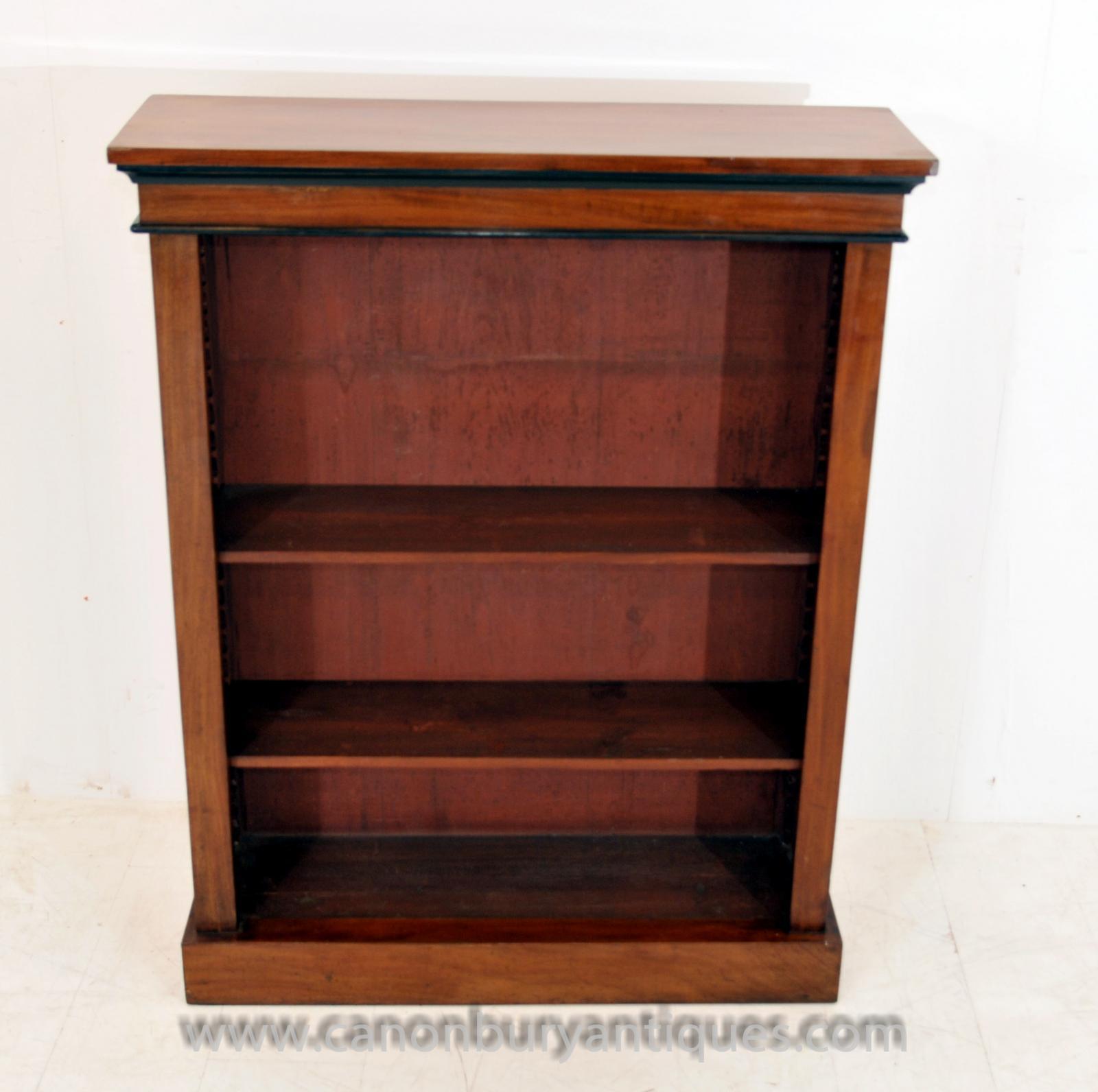 Ebay Bookcases For Sale: Antique Biedermeier Open Front Bookcase Open Bookcase