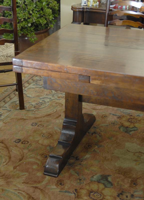 Table 10 ft art nouveau mahogany extending dining table for 10 foot farmhouse table plans