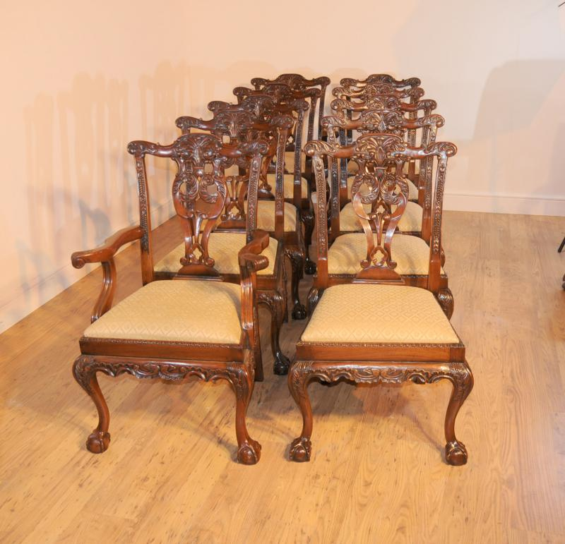 Chippendale Chairs Ebay Chippendale Dining Chairs