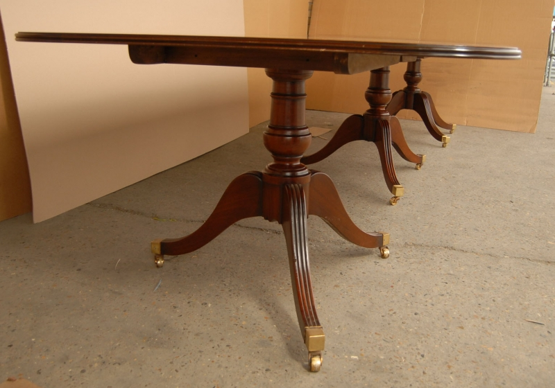 Photo of 16 ft English Regency Pedestal Dining Table Tables Diner