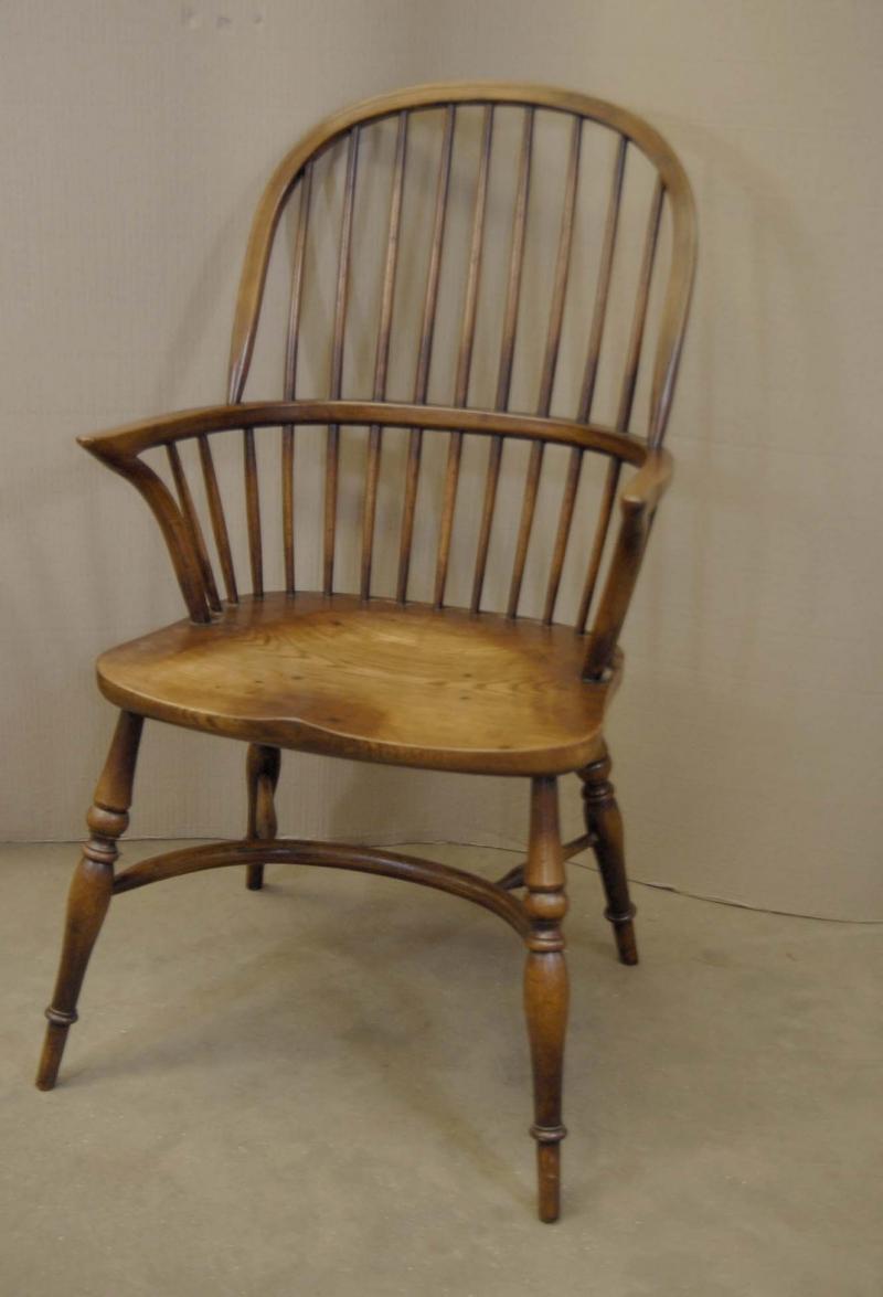 8 Farmhouse English Windsor Dining Chairs Oak Ebay