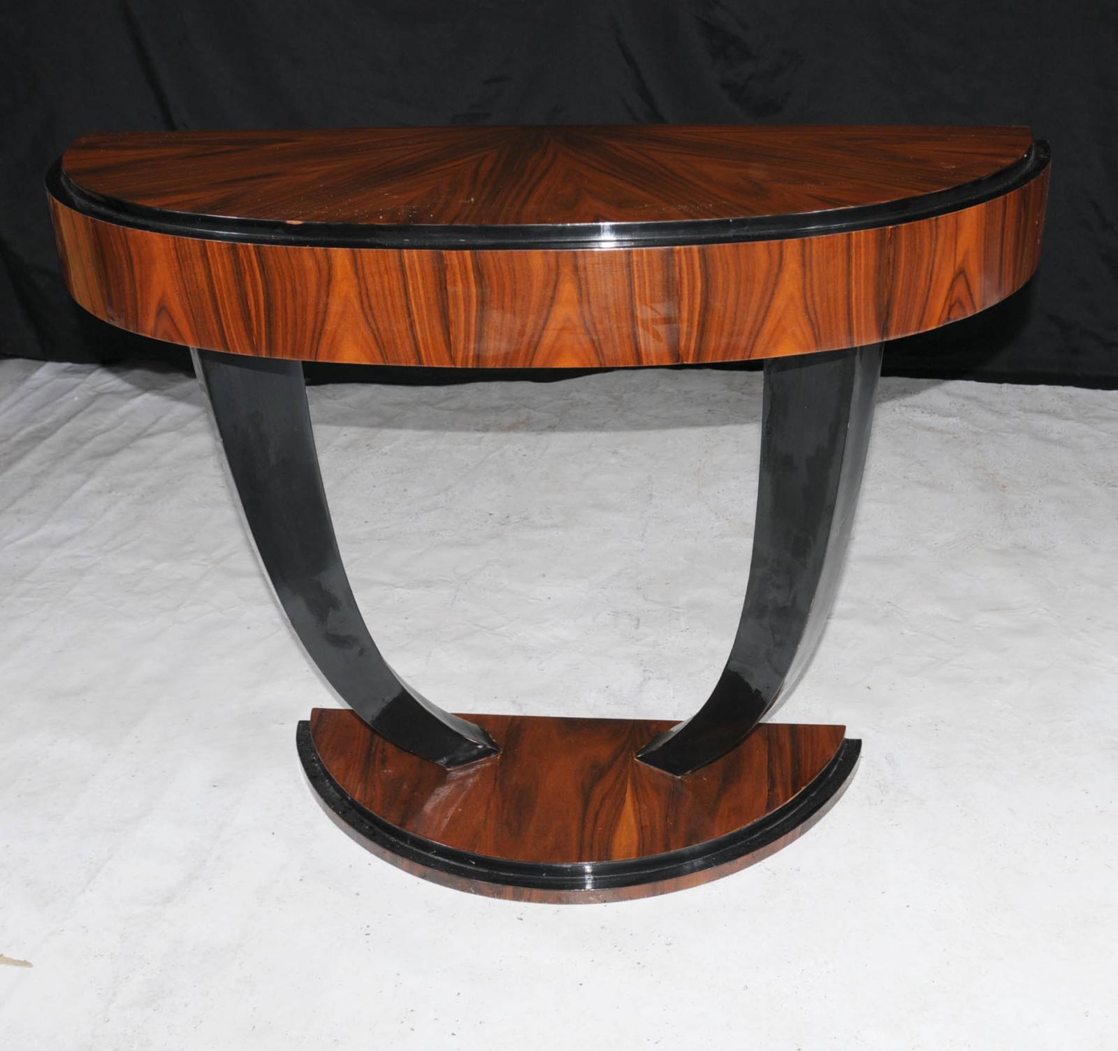 Art Deco Foyer Table : Art deco modernist console table hall tables s