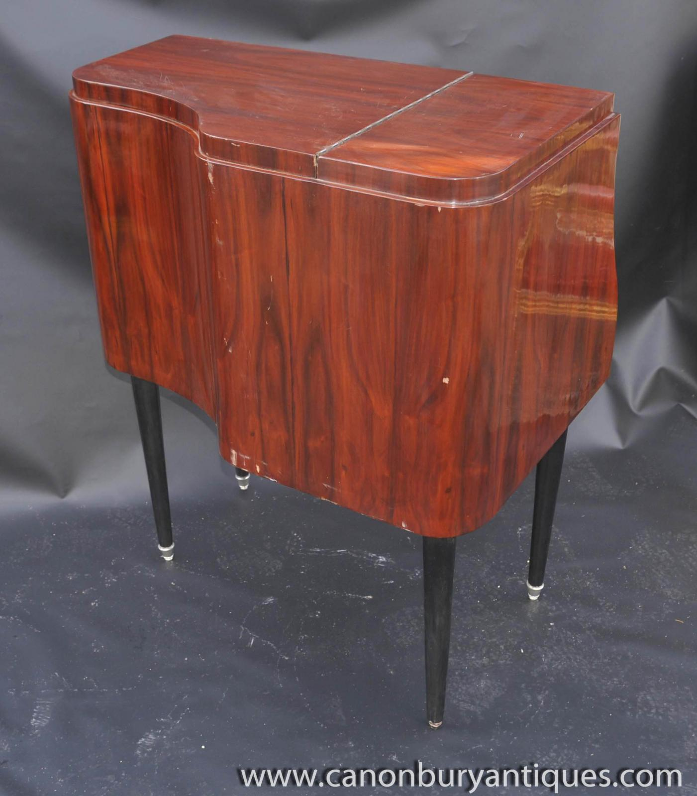 Piano Furniture Art Deco Piano Drinks Cabinet Cocktail Chest Furniture Ebay
