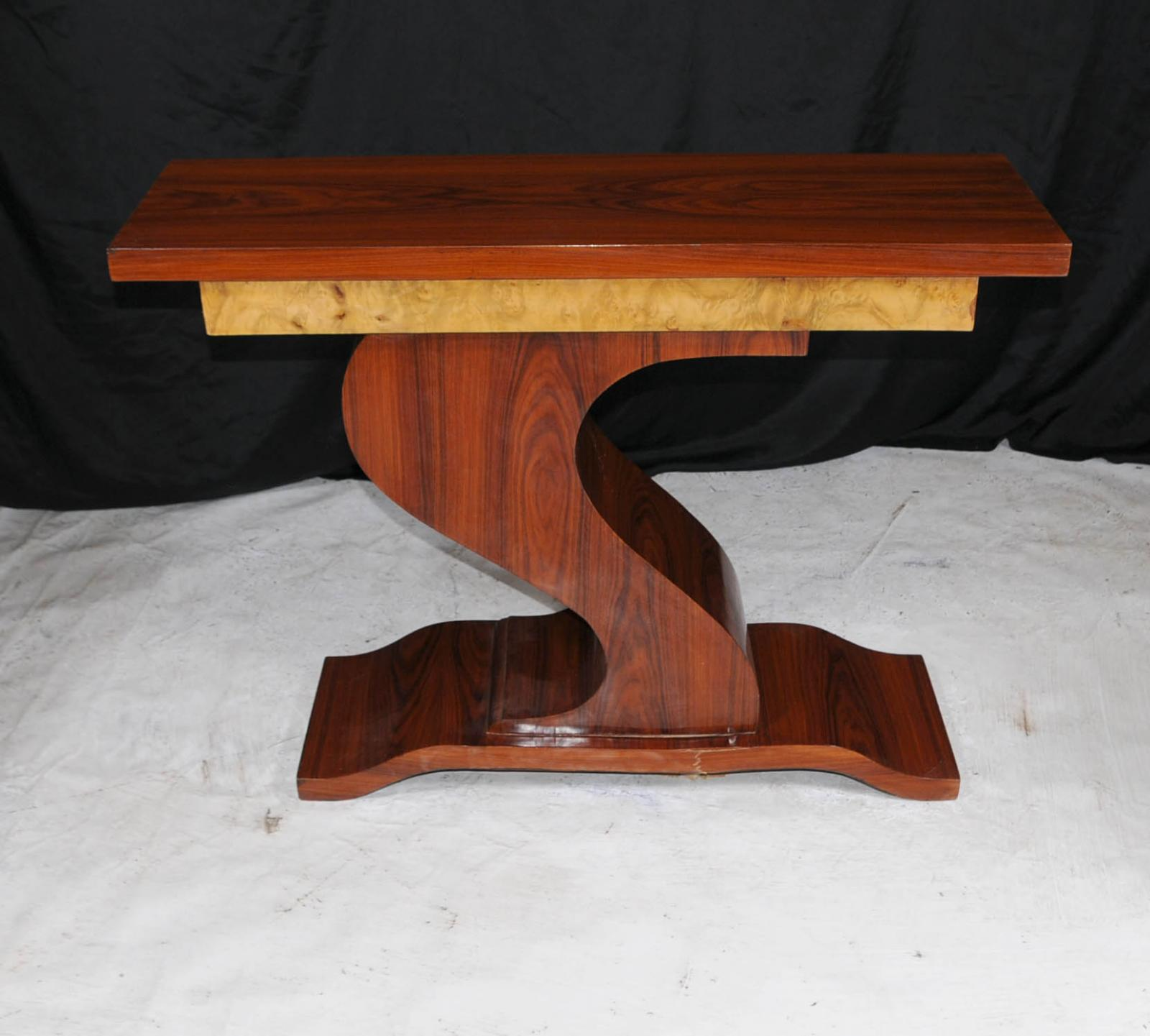 Art Deco Foyer Table : Art deco z console hall table tables s furniture