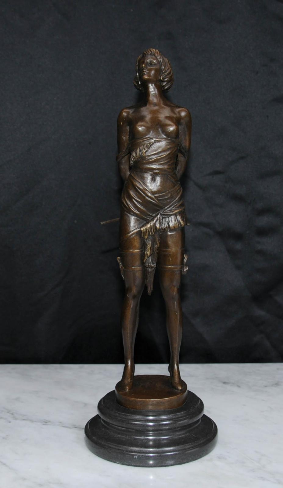 Erotic bronze sculptures