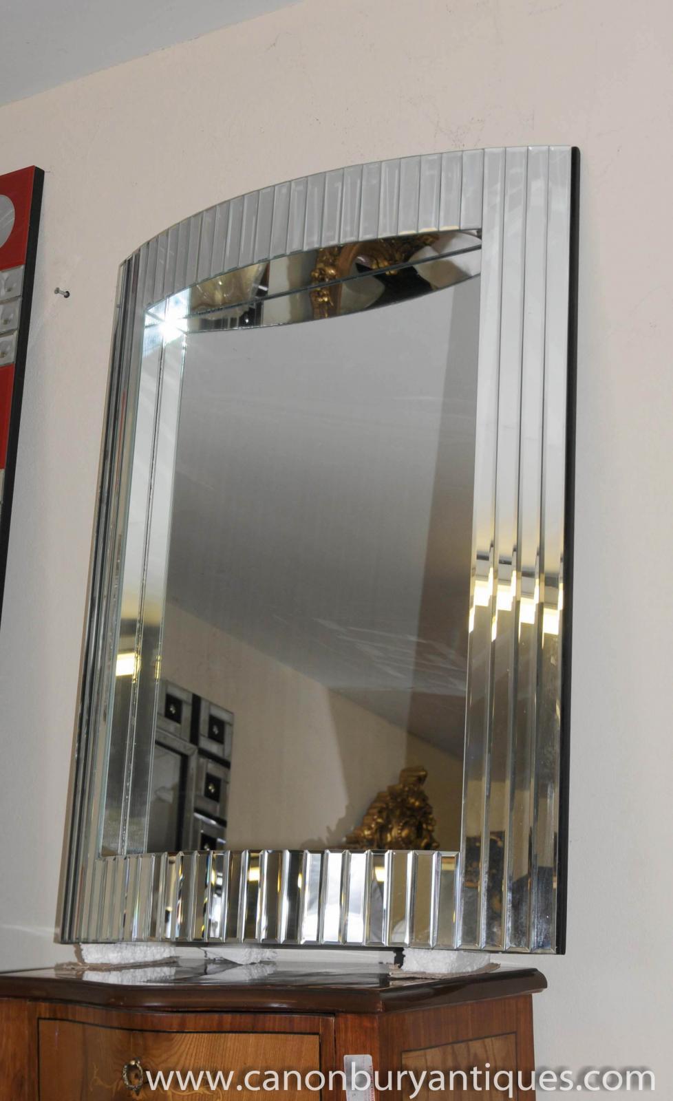 French Art Deco Glass Pier Mirror 1920s Mirrors Ebay