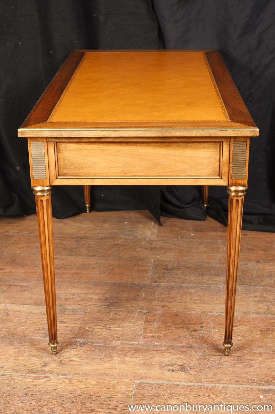 french empire bureau plat writing table desk. Black Bedroom Furniture Sets. Home Design Ideas