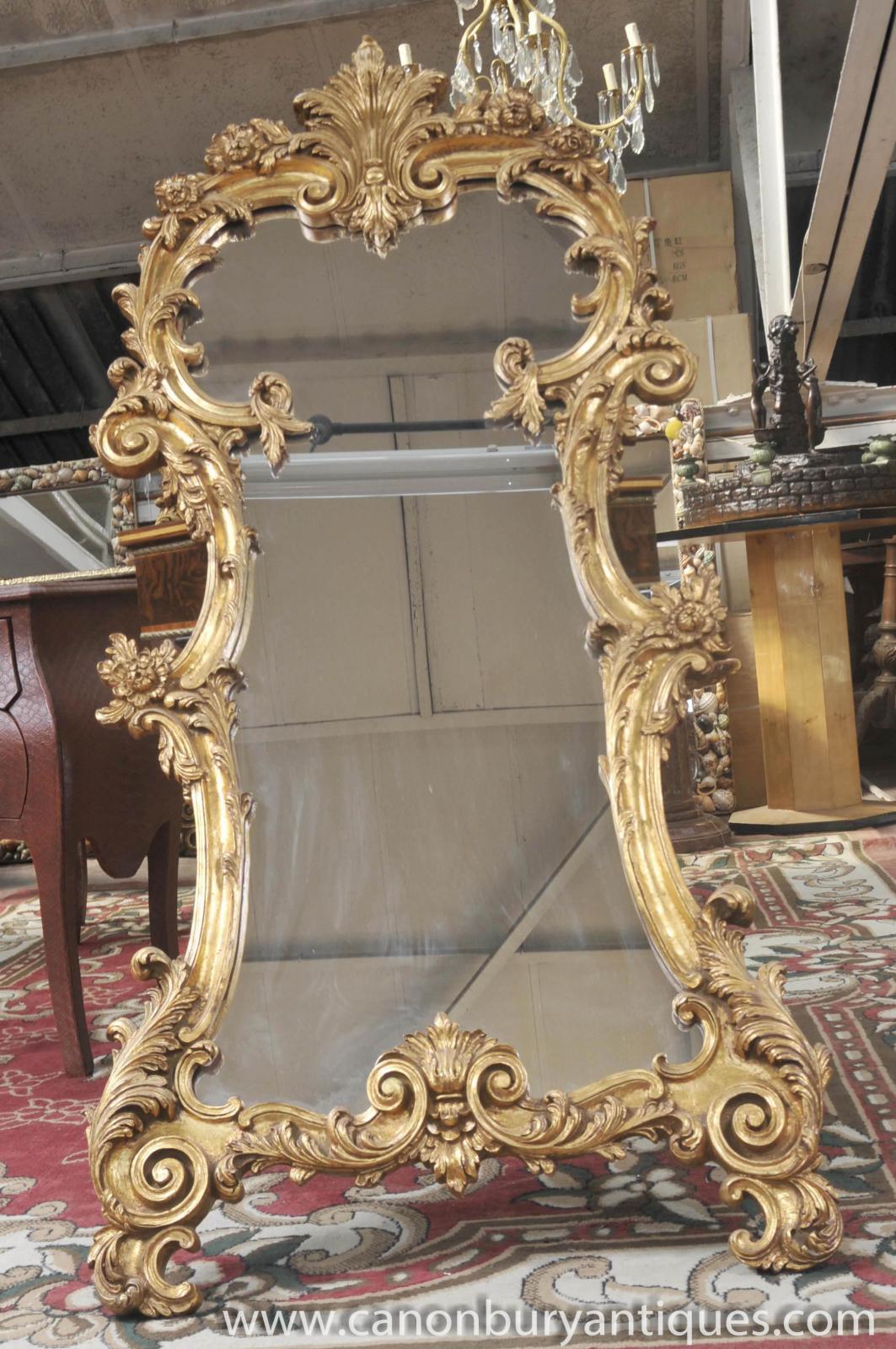 french louis xv rococo pier mirror pier mirrors ebay
