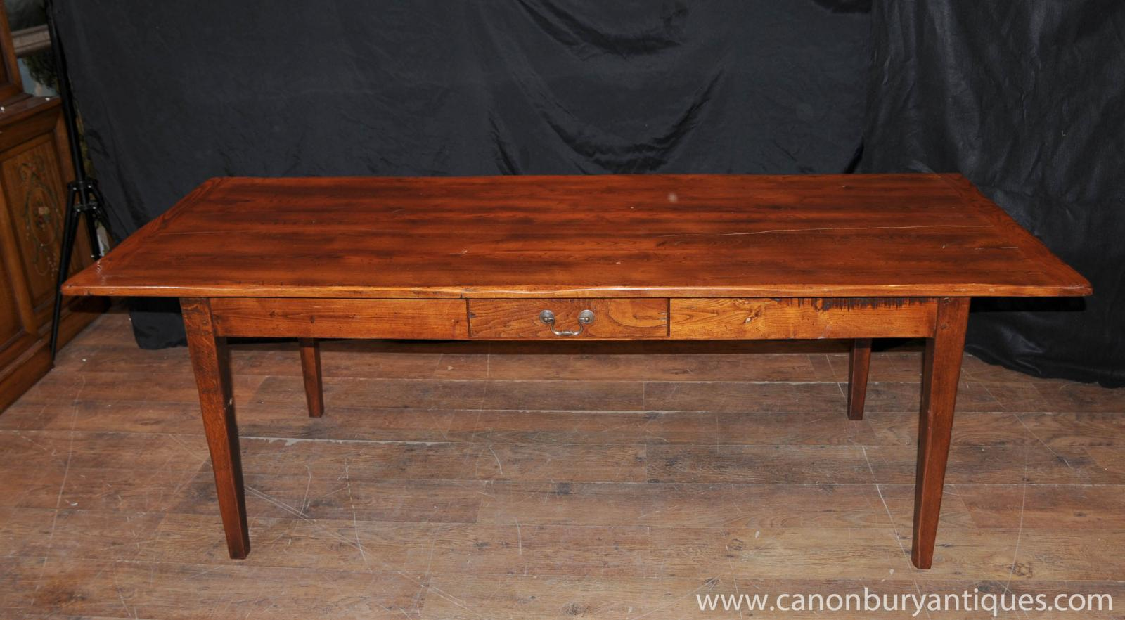 oak kitchen table refectory diner tapered legs ebay