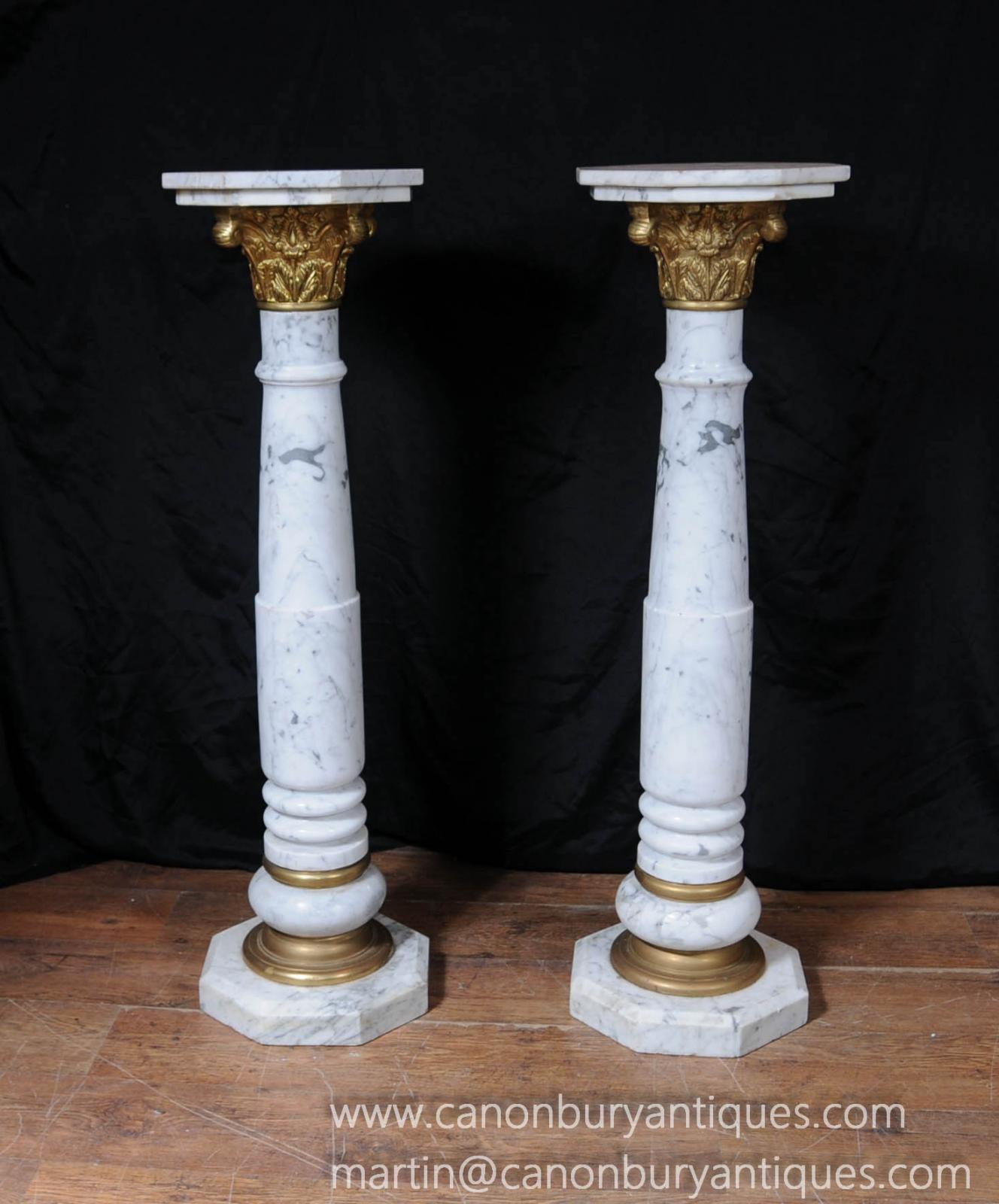 pedestal table column