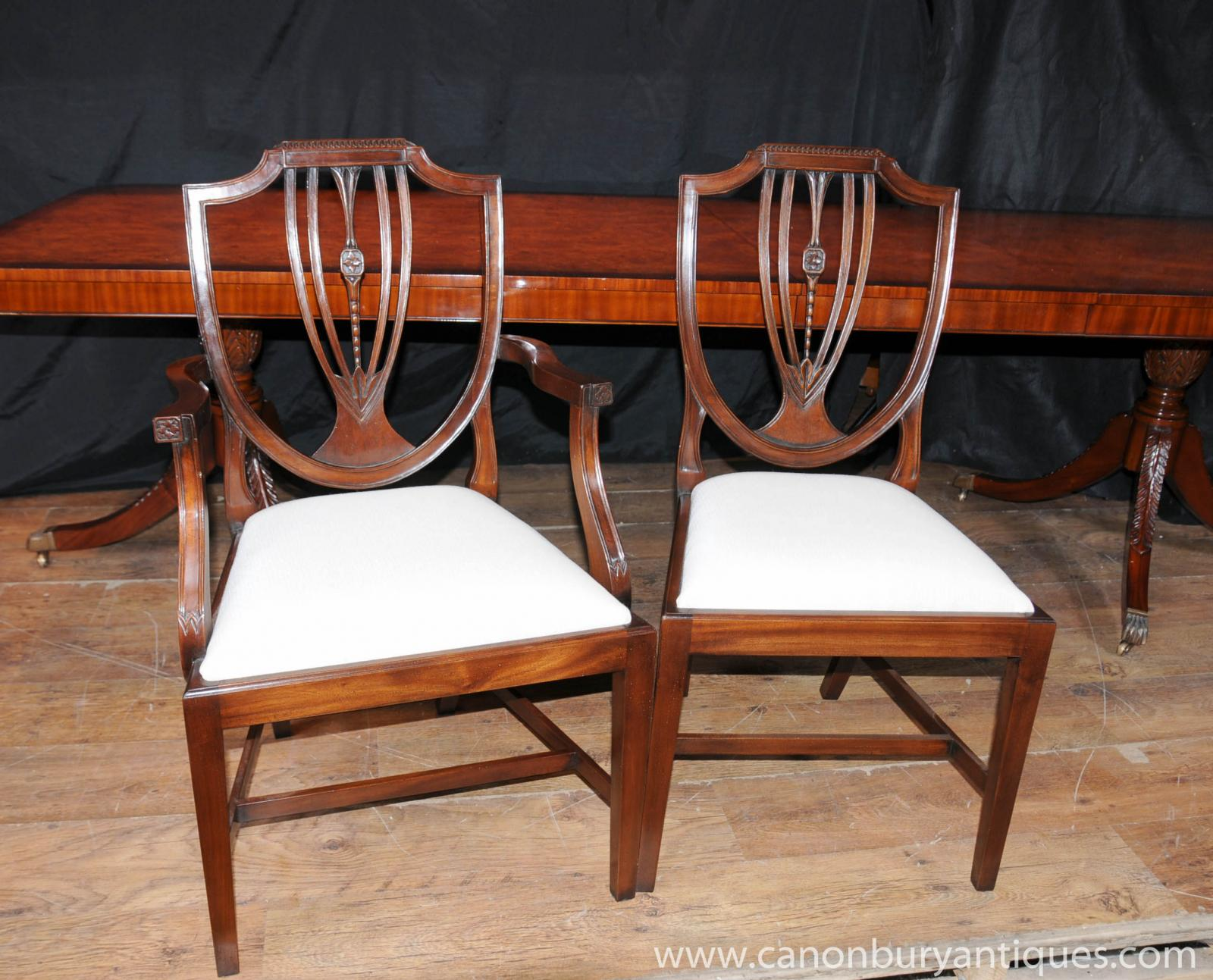Antique regency dining chairs - Antique Regency Dining Chairs 57