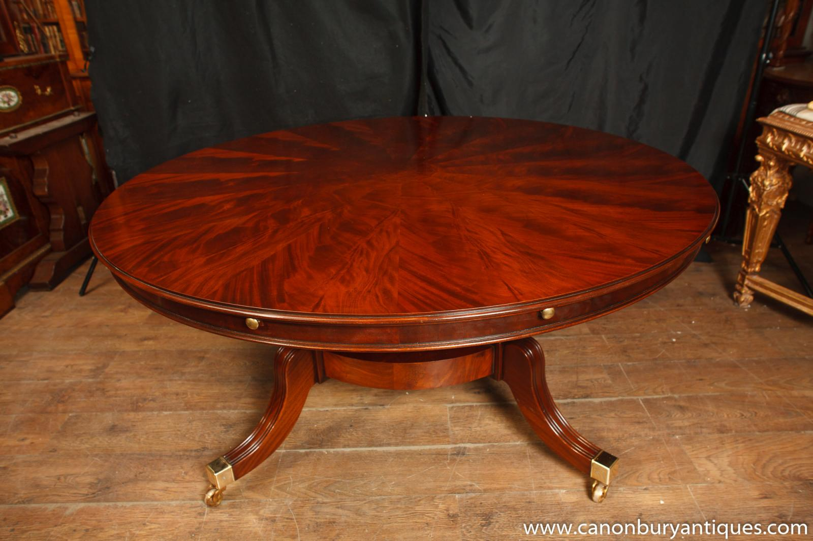 About Regency Jupes Table Round Expanding Dining Tables Jupe Furniture
