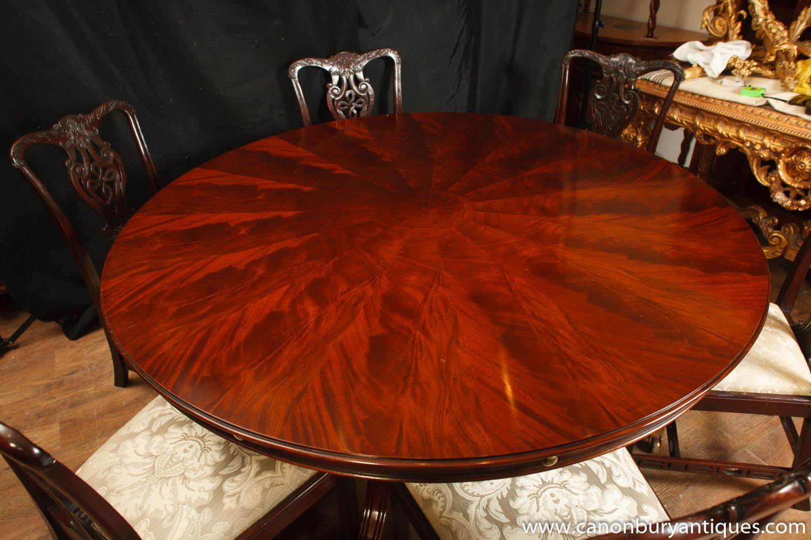 Regency jupes table round expanding dining tables jupe for Buy expanding round table