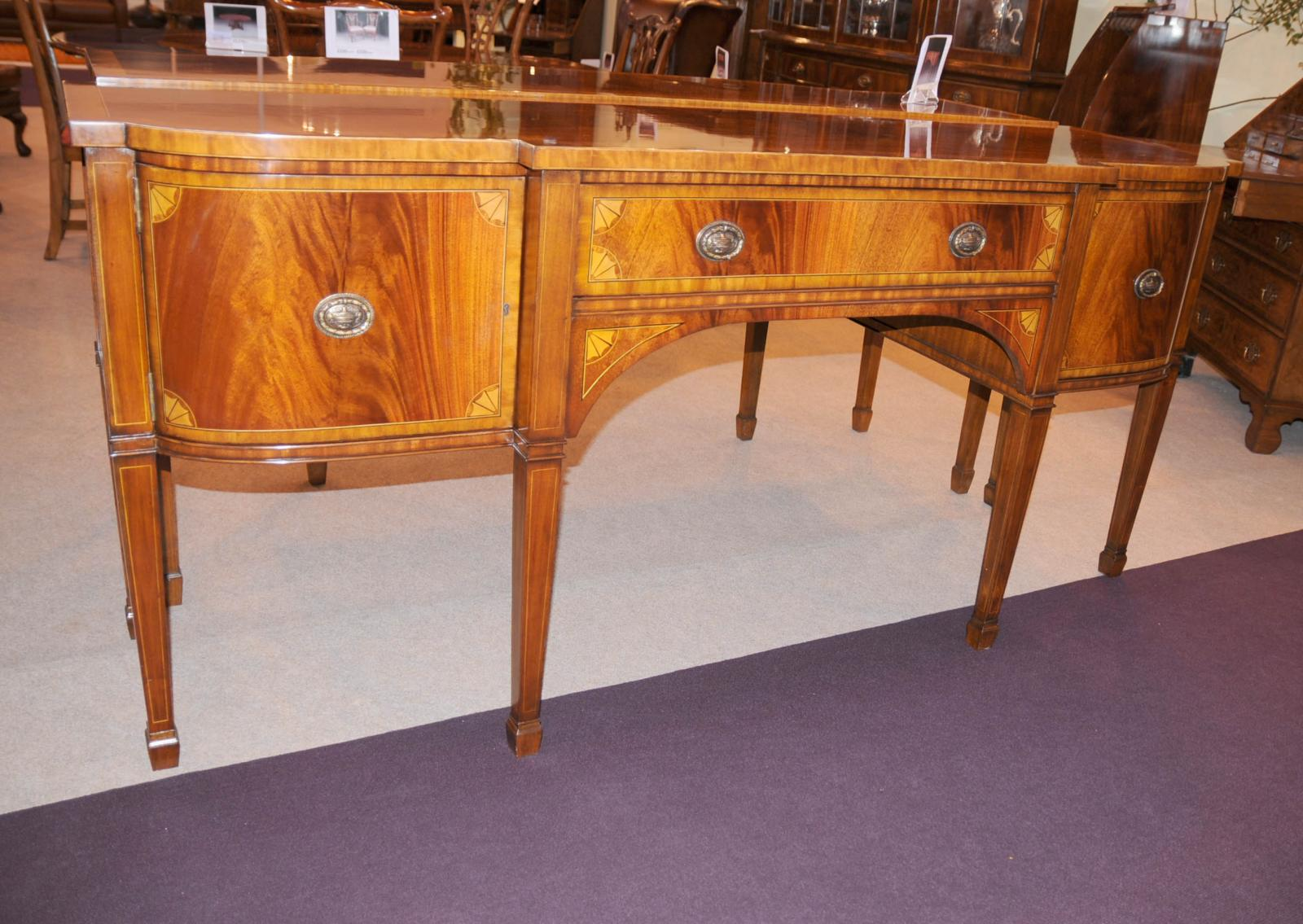 Mahogany Sideboard Server Buffet