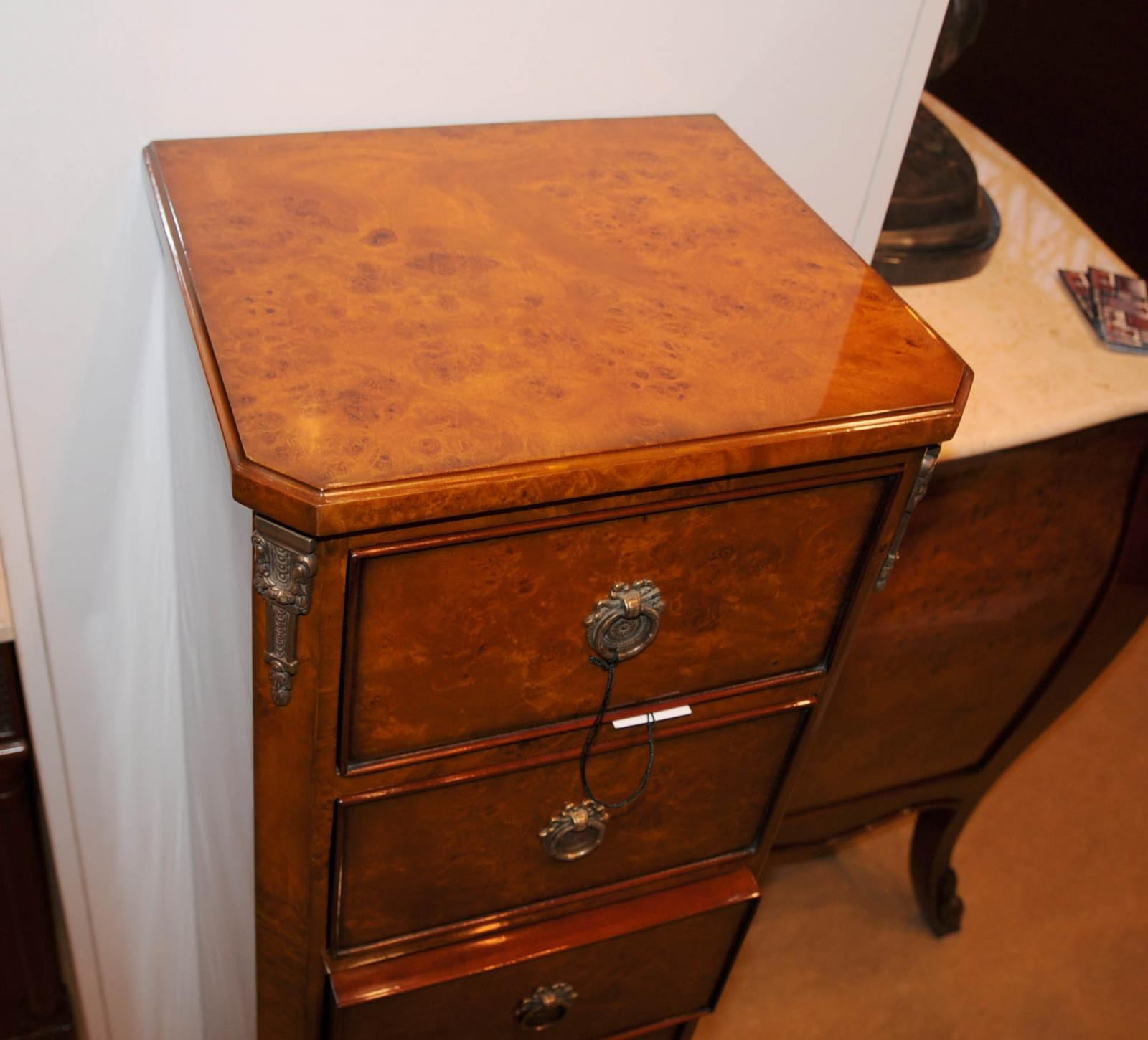 #BC4908 Details About Regency Walnut Lingerie Commode Chest Drawers Tall Boy with 1600x1450 px of Brand New Tall Lingerie Dresser 14501600 pic @ avoidforclosure.info
