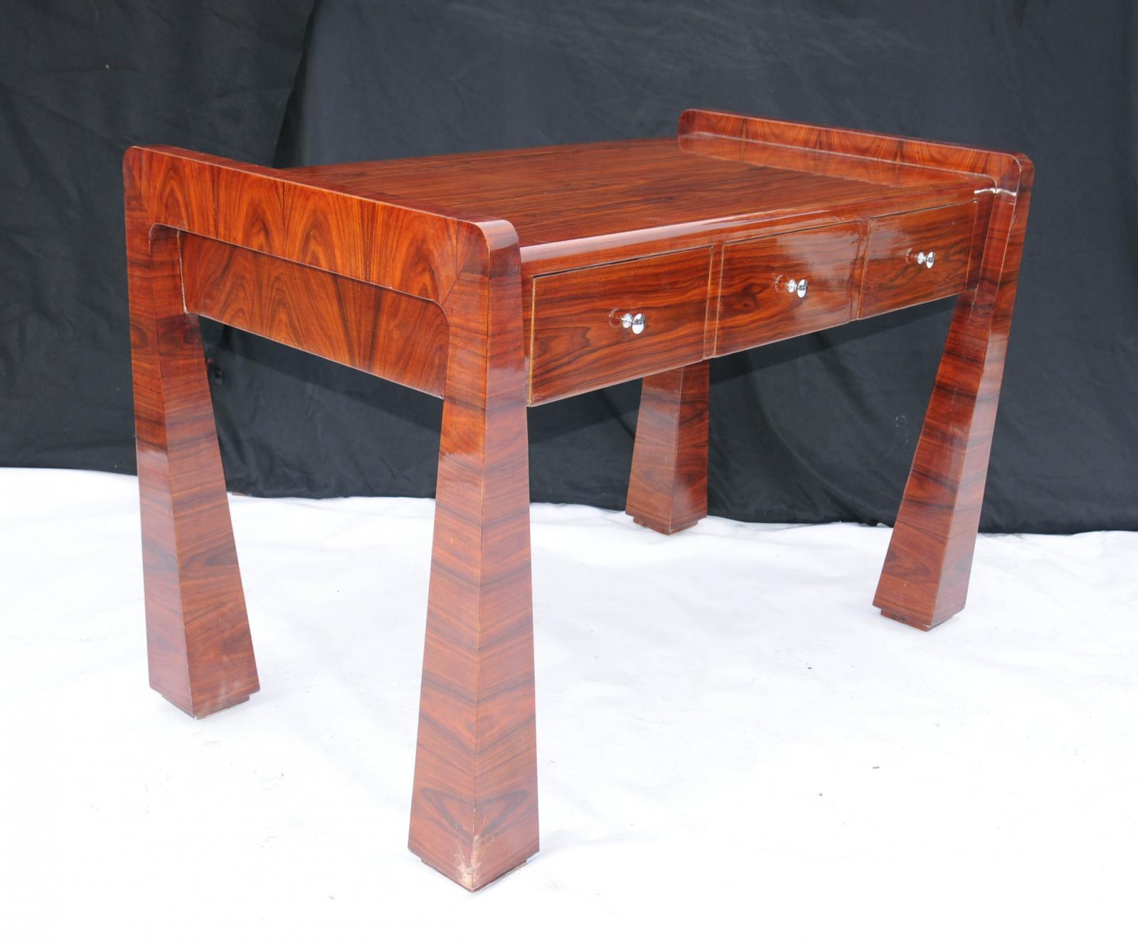 rosewood art deco desk 1920s office furniture writing table ebay art deco office furniture
