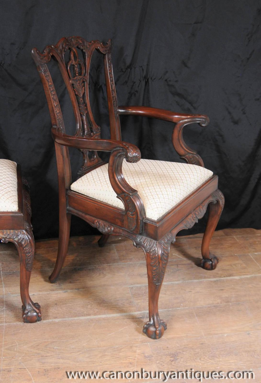 Set 10 Mahogany Chippendale Dining Chairs Ball Claw Feet  : Set201020Mahogany20Chippendale20Dining20Chairs20Ball20Claw20Feet20Diner20Chair 1381380877 zoom 30 from www.ebay.com size 1090 x 1600 jpeg 167kB