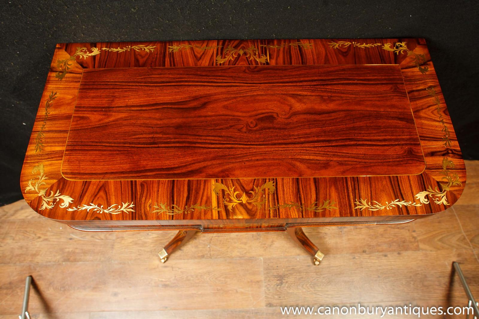 Single Regency Games Card Table Occasional Side Tables