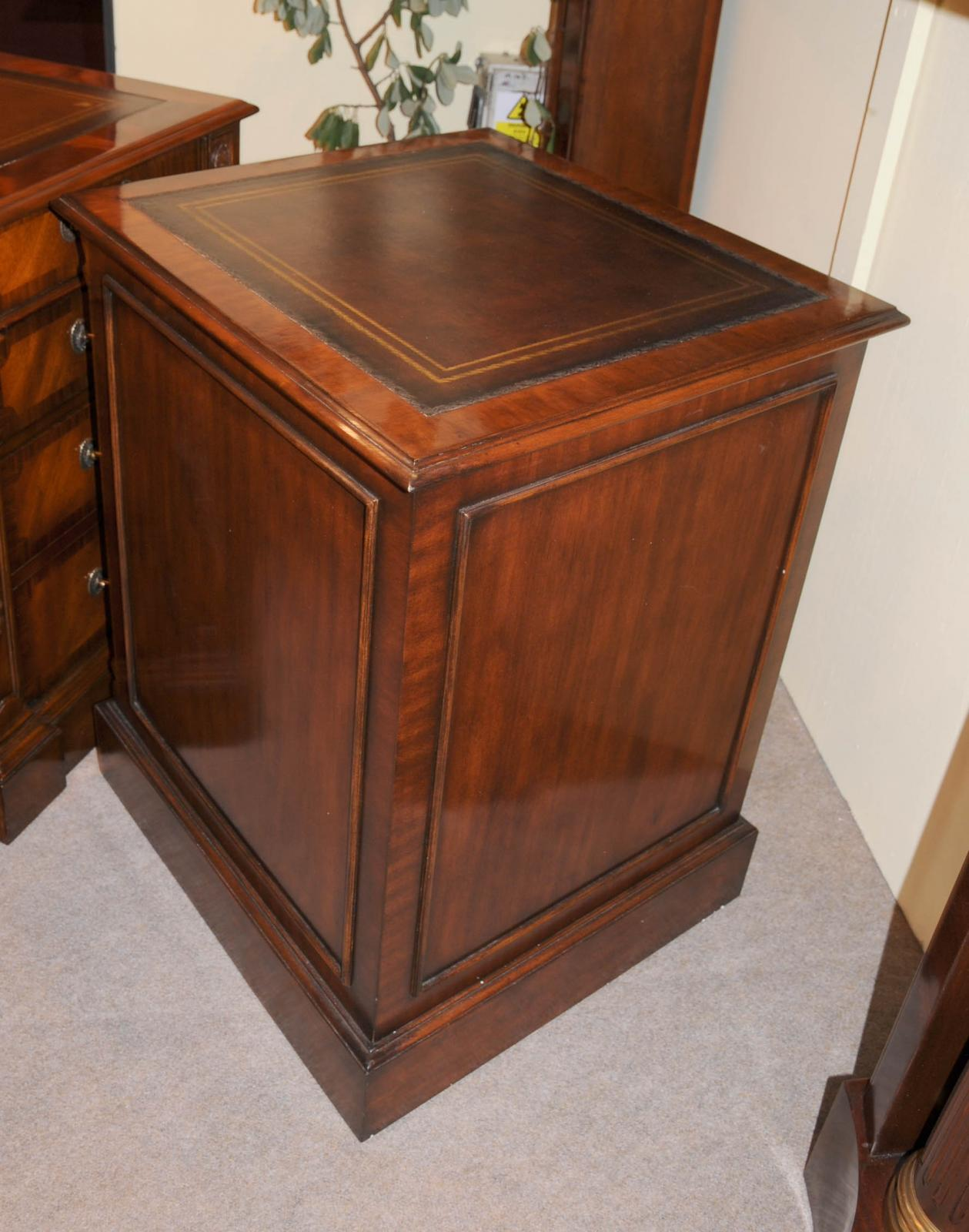 Victorian Mahogany Office File Cabinet Drawer Chest Filing Cabinets