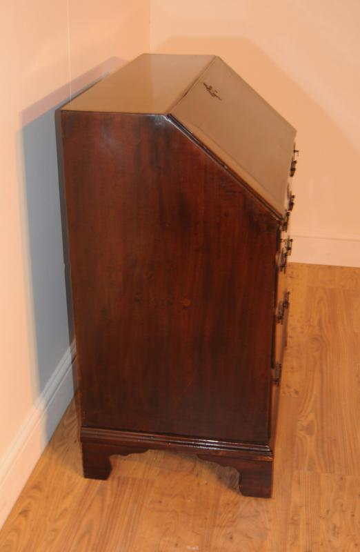 Photo of Antique Victorian Bureau Desk Chest Drawers