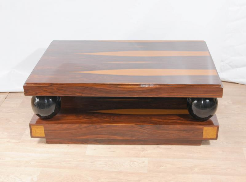 Art Deco Coffee Table Cocktail Tables Rosewood Furniture Ebay