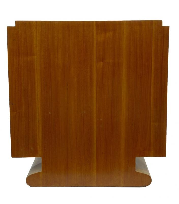Photo of Art Deco Crinkle Cabinet Chest Cupboard Vintage Furniture