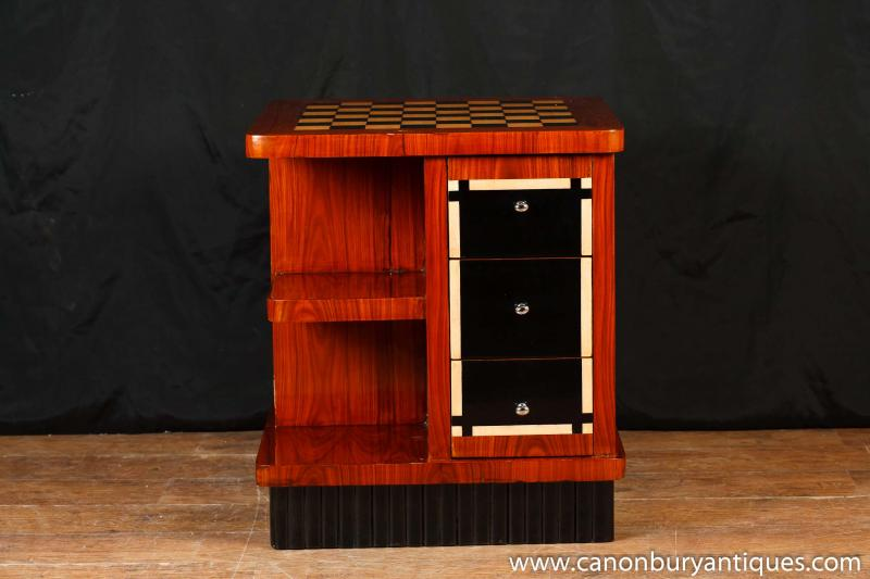 Photo of Art Deco Games Table Coffee Tables Bookcase Chess Furniture