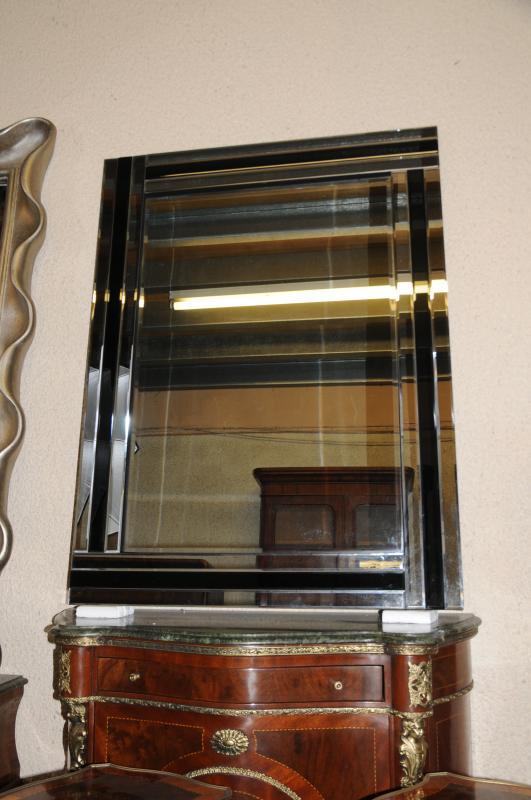 Photo of Art Deco Glass Mantle Mirror Mirrors