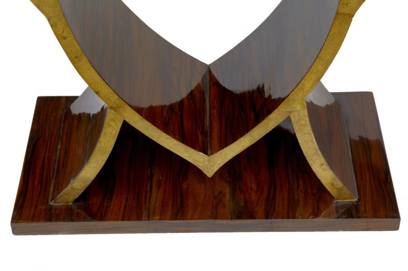 Photo of Art Deco Love Console Table Heart Inlay Hall Tables