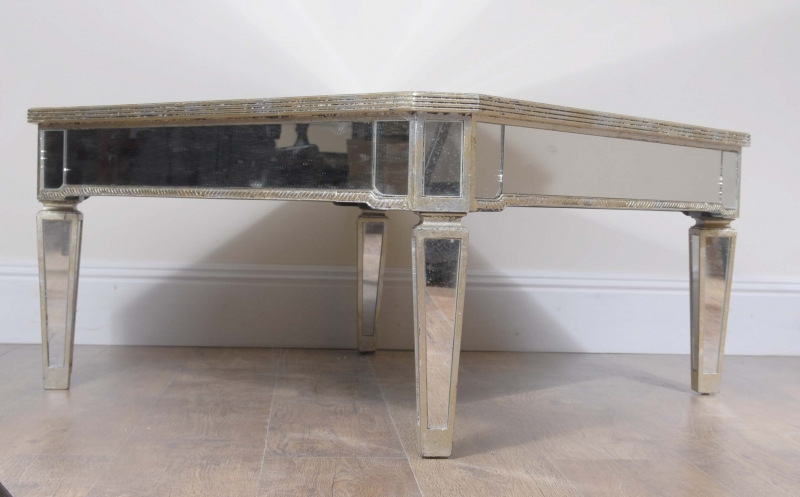 Photo of Art Deco Mirrored Coffee Table