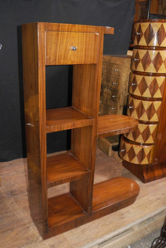 Photo of Art Deco Modernist Bookcase Shelf Unit 1920s Furniture