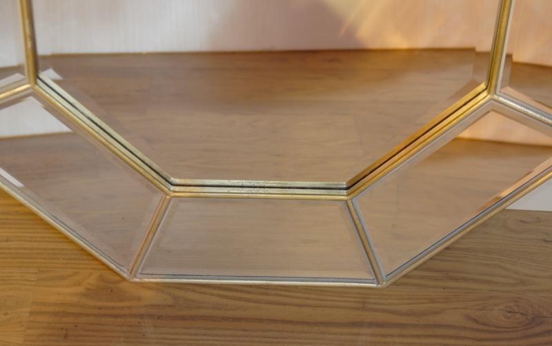 Photo of Art Deco Octagonal Mirror Mirrors Glass Pier