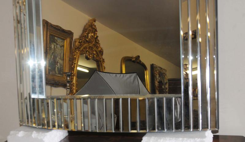 Photo of Art Deco Pier Mirror Glass Hall Mirrors