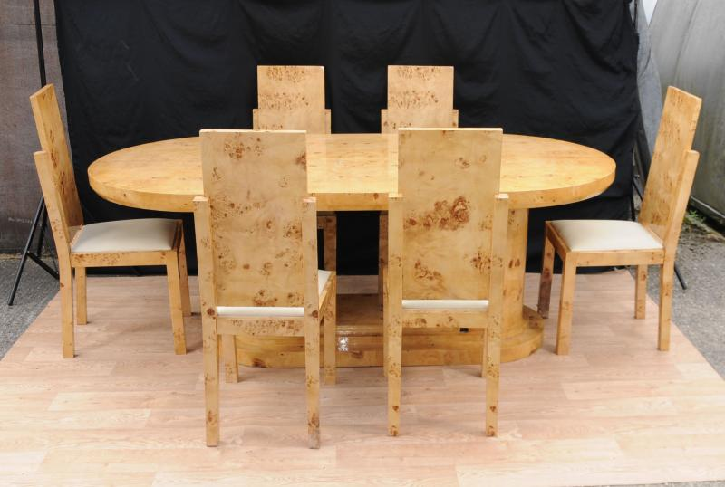 Art Deco Table and Chair Set Dining Suite 1920s Interiors  : art deco table and chair set dining suite 1920s interiors 1348598005 zoom 9 from www.popscreen.com size 800 x 538 jpeg 51kB