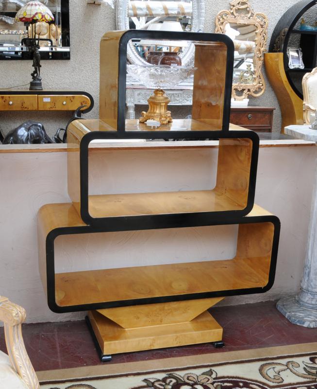 Photo of Art Deco Vintage Bookcase Shelf Unit 1920s Furniture