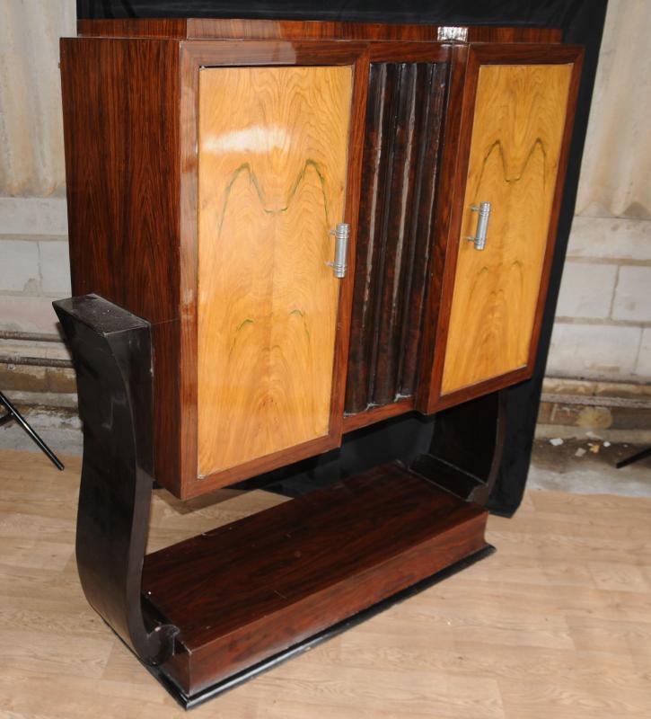 Art Deco Vintage Cabinet Chest Tv Cabinets Furniture Ebay