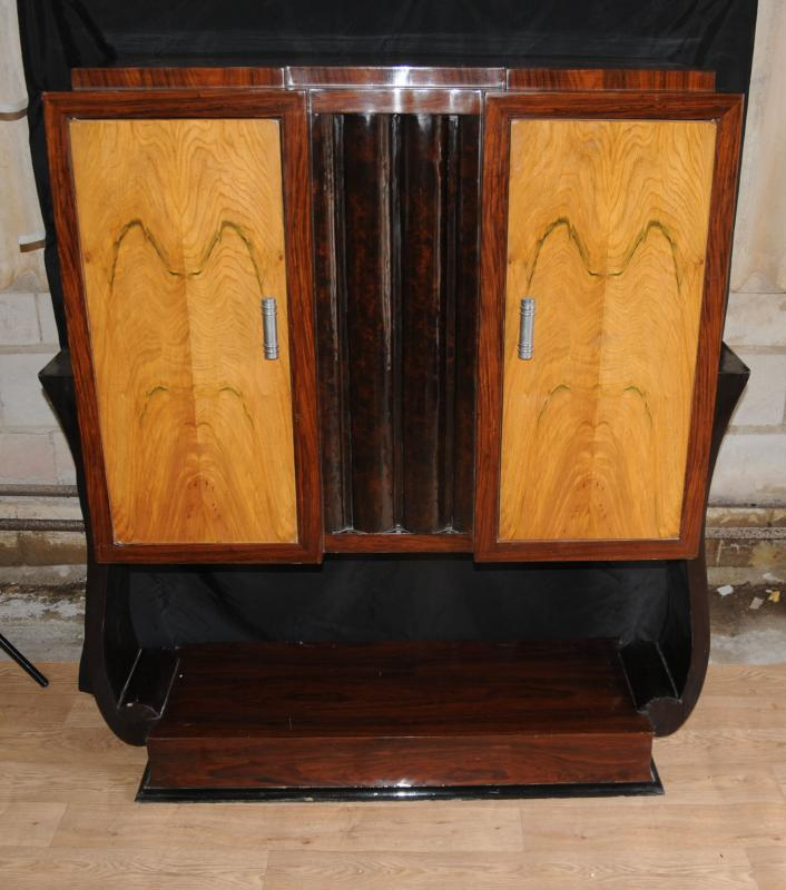 Art Deco Vintage Cabinet Chest Tv Cabinets Furniture Ebay