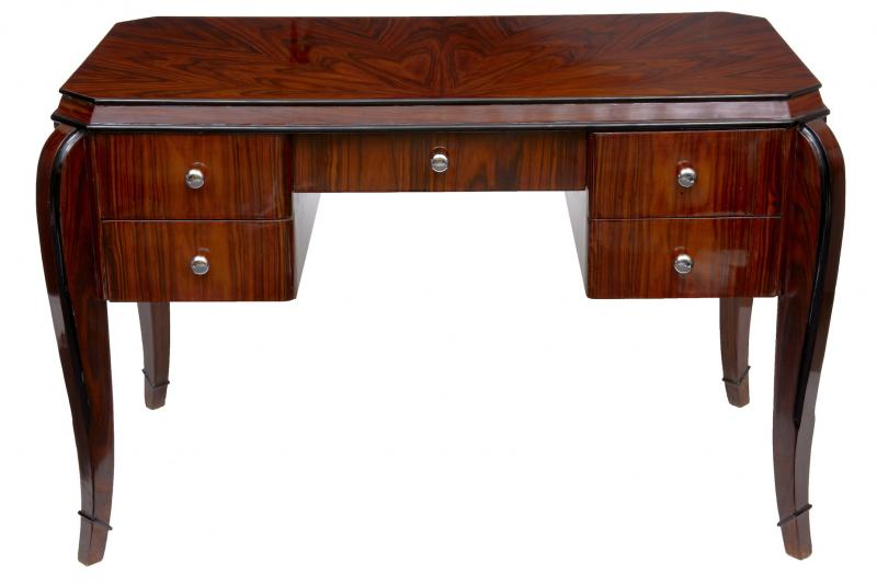 Art deco writing table desk dressing tables bureau office for Table bureau