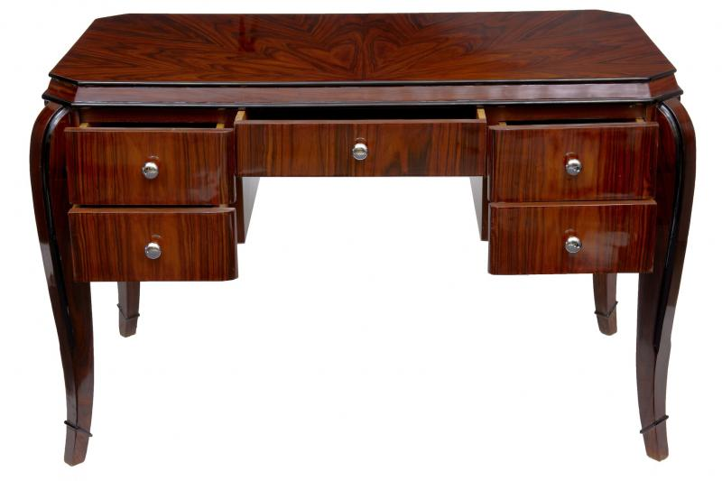 Art Deco Writing Table Desk Dressing Tables Bureau Office eBay