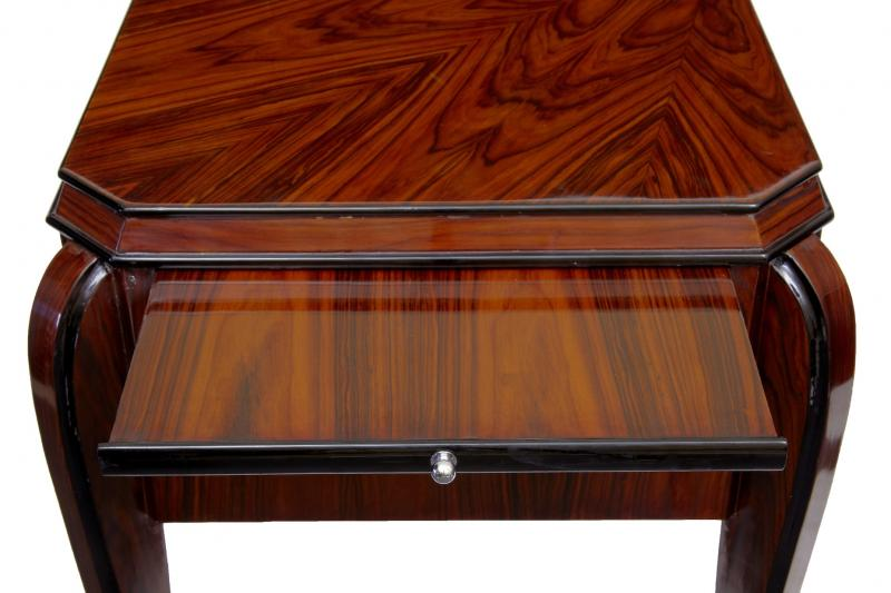 art deco writing table desk dressing tables bureau office ebay. Black Bedroom Furniture Sets. Home Design Ideas