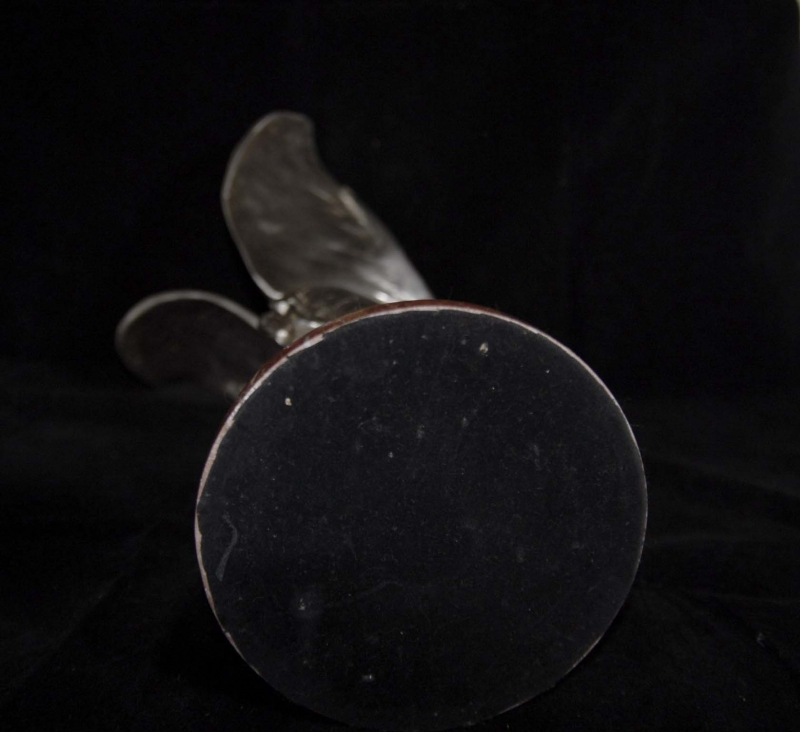 Photo of Charles Skyes Flying Lady Bronze Silver Spirit Ecstacy Rolls Royce