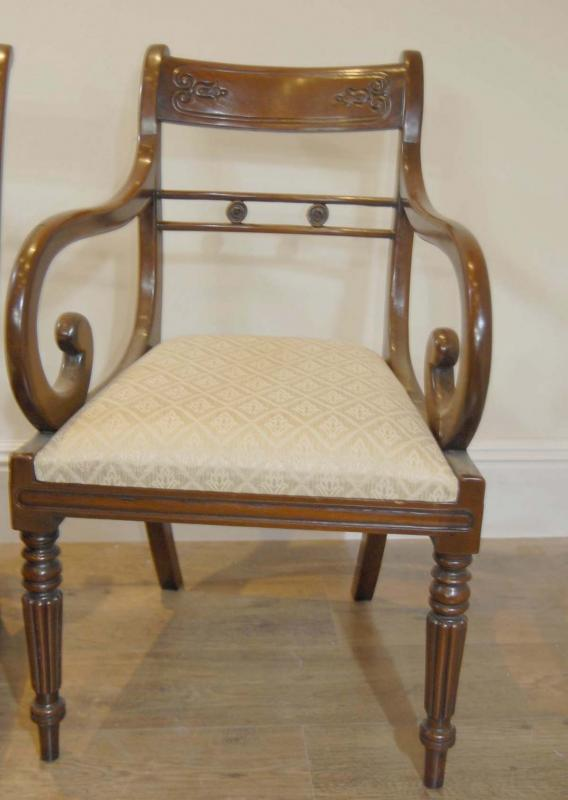 Chippendale Chairs Auction Chippendale Arm Chairs
