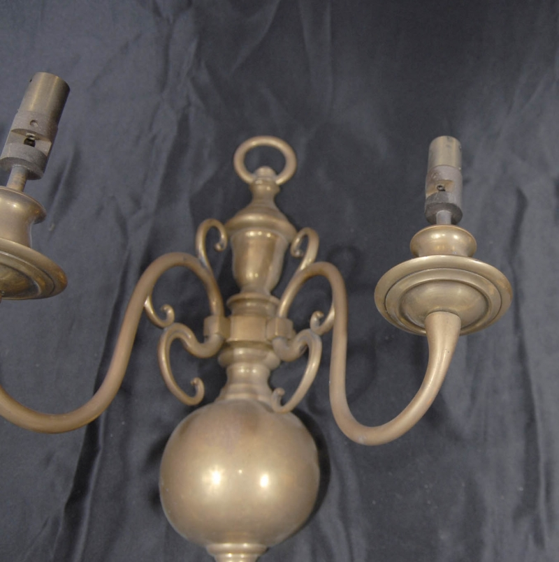 Photo of English Brass Victorian Sconce Wall Lights Appliques Fixtures