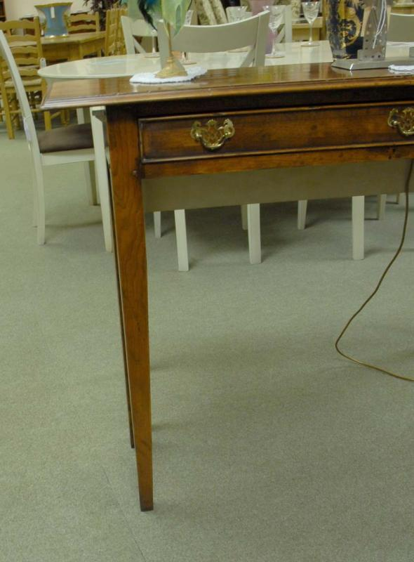 Photo of English Georgian Classic Sideboard Console Table Cherry Wood