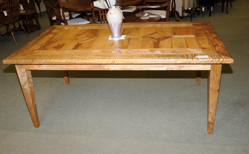 Photo of Farmhouse Kitchen Table Mango Wood Refectory